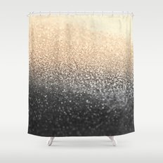 GOLD BLACK Shower Curtain