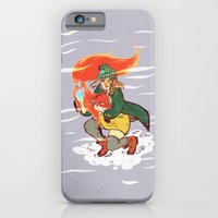 iPhone & iPod Case featuring The Detective and the Fox by Judith Chamizo