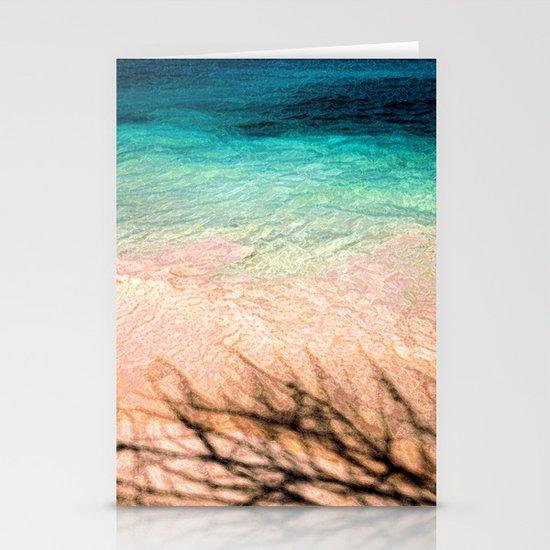 SEA AND TREE Stationery Card