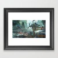 SunderFall: Galbourne Ri… Framed Art Print
