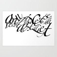acbgdvx Art Print