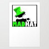 MAD HAT Art Print