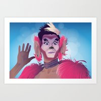 Art Print featuring Manila Luzon (as Tweaker) by Jordan McLaughlin