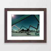Metro Framed Art Print