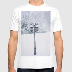 Welcome to Narnia SMALL White Mens Fitted Tee