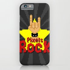 Pixels Rock iPhone 6s Slim Case