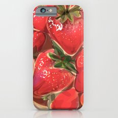fraises. Slim Case iPhone 6s