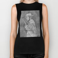 The Man with No Name Biker Tank