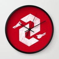 Thunderforce Wall Clock