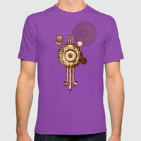 Hypnotism Mens Fitted Tee Ultraviolet SMALL