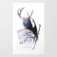W   I   L   D Art Print