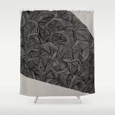 - monolith 3 - Shower Curtain