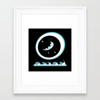 And when there is no more room in hell, the misprints will ship to your door. Framed Art Print