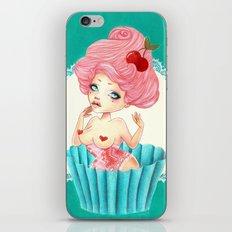 Cupcake Girl iPhone & iPod Skin