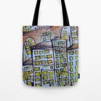City Scape. Tote Bag