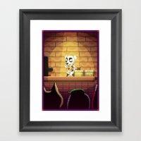 Pixel Art Series 15 : So… Framed Art Print