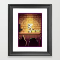 Pixel Art series 15 : Song Framed Art Print