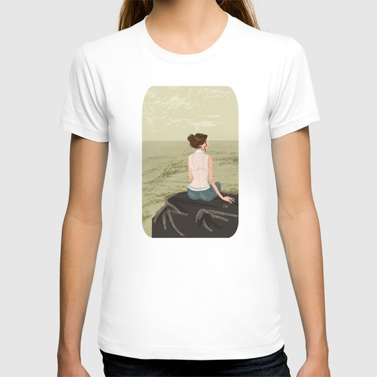 Girl by the Sea T-shirt