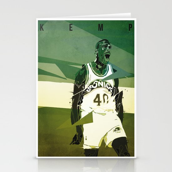 Seattle Reign Man Stationery Card