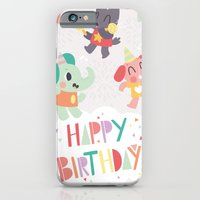 Happy Birthday Party Animals iPhone 6 Slim Case