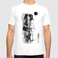 Kiss Mens Fitted Tee White SMALL