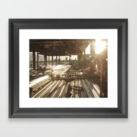 Under Construction.. Framed Art Print