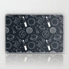 Space Doodles Laptop & iPad Skin