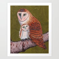Owl Always Love You Art Print