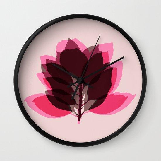 Blossom Pink Wall Clock