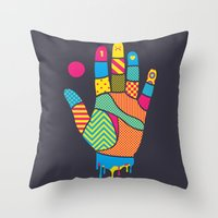 Heavy Handed Throw Pillow