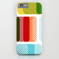 iPhone & iPod Case featuring Layered Squares no.2 by mrs eliot books