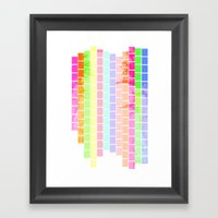 Bricks of Sound Framed Art Print