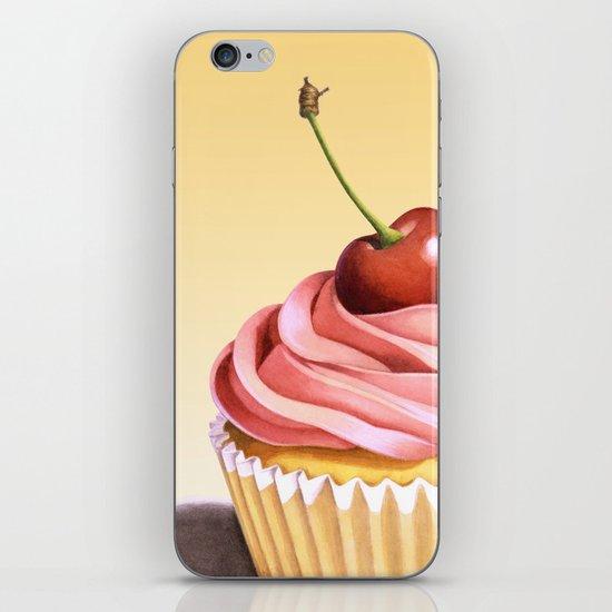 Pink Cupcake II iPhone & iPod Skin