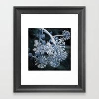 Blue Tumbler Framed Art Print