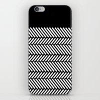Herringbone Boarder iPhone & iPod Skin