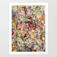 Drugs & Dubstep Art Print