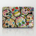 Sugar Skull Collage iPad Case