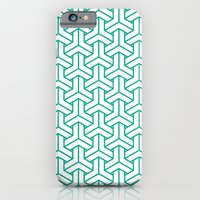 Bishamon In Emerald iPhone 6 Slim Case
