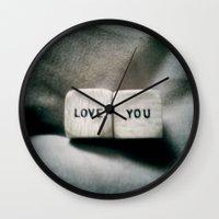 Love You Wall Clock
