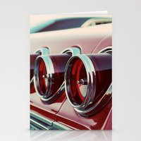Taillights Stationery Cards