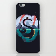 Silhouette Creature  iPhone & iPod Skin