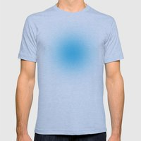 Blue Haze Mens Fitted Tee Athletic Blue SMALL