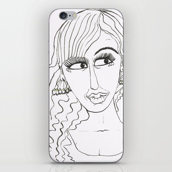 Maryja iPhone & iPod Skin