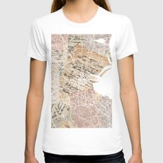 Dublin Womens Fitted Tee White SMALL
