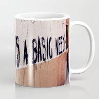 Art is a basic need Mug
