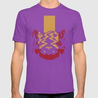 Marble Madness: Where Go… Mens Fitted Tee Ultraviolet SMALL