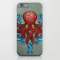 Red Dectopus iPhone 6 Slim Case