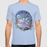 Marie Antoinette Mens Fitted Tee Tri-Blue SMALL