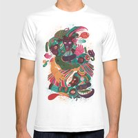 Sense Improvisation Mens Fitted Tee White SMALL