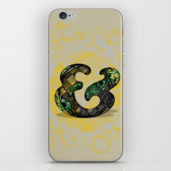 Ampersand Series - Cooper Std Typeface iPhone & iPod Skin